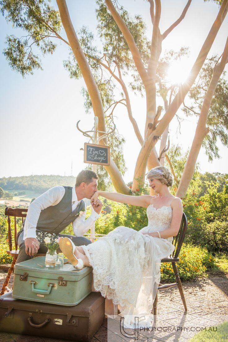 Wedding captured in the Bickley Valley