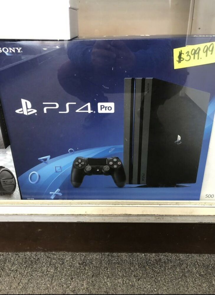 Sony PlayStation Pro 4 1TB Jet Black Console ( Before Buying