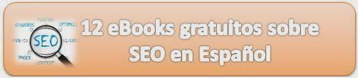 12 eBooks gratuitos sobre SEO en Español