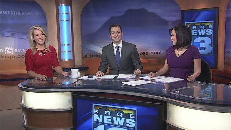 Nothin' but smiles on this Wednesday morning. Join us on Ch.13 for #KRQEMornings. @krqe #NewMexico Peatie's favorite station. :)