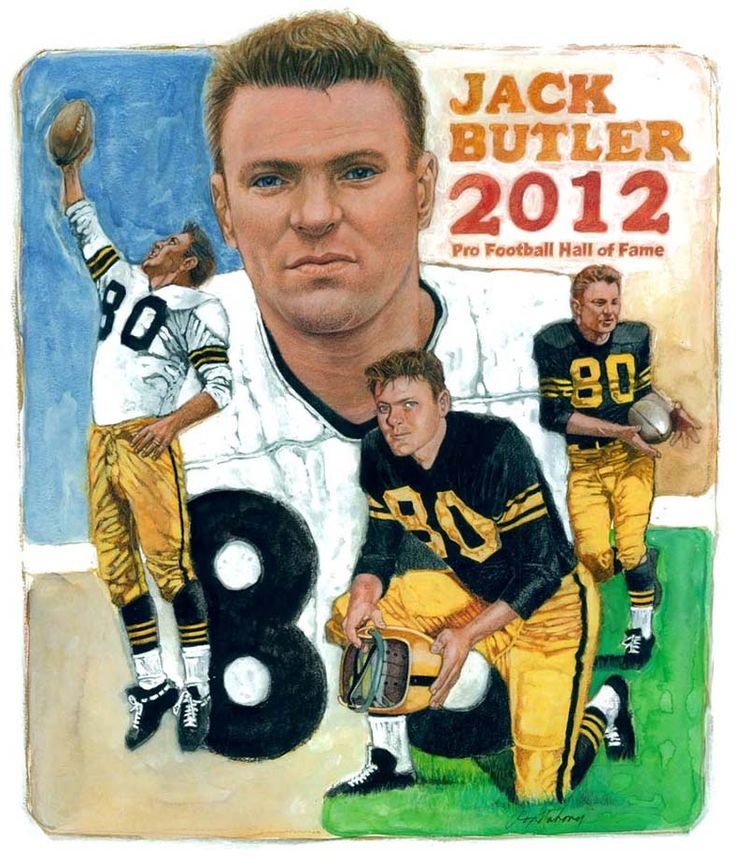 Jack Butler - Pittsburgh Steelers Hall of Fame inductee 26746d3ef