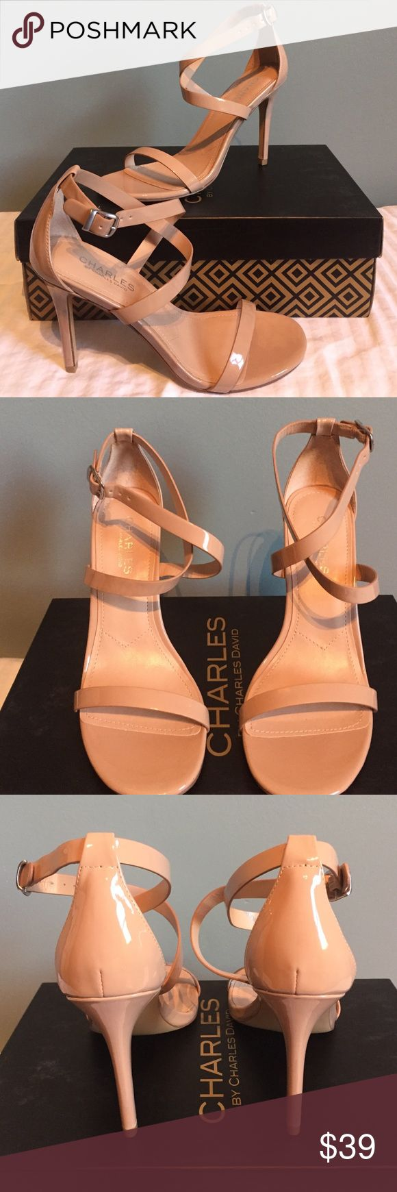 🎈NIB Charles by Charles David Nude Patent🎈 NIB.  This shoe will go with everything.  Thanks for looking! Charles David Shoes Heels