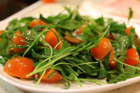 Салат с руколой - Рецепты салат с рукколой - Как правильно готовить