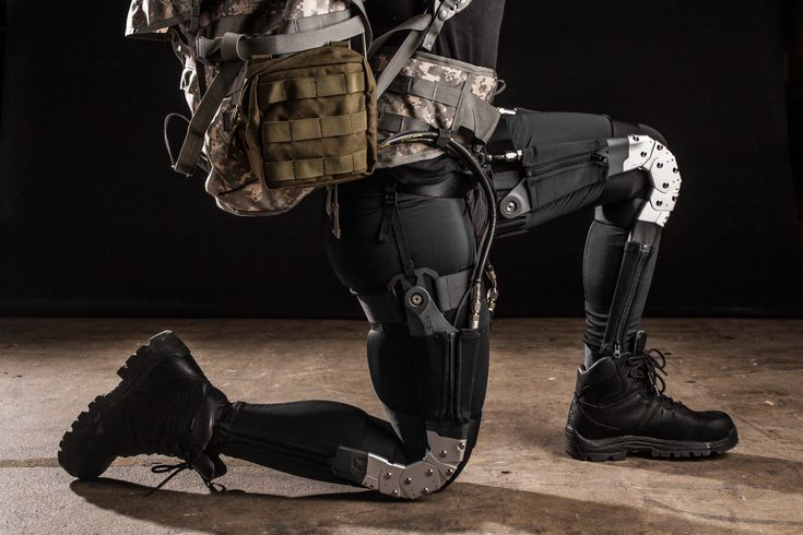 DARPA Warrior Techsuit Gives Soldiers SuperHuman Abilities