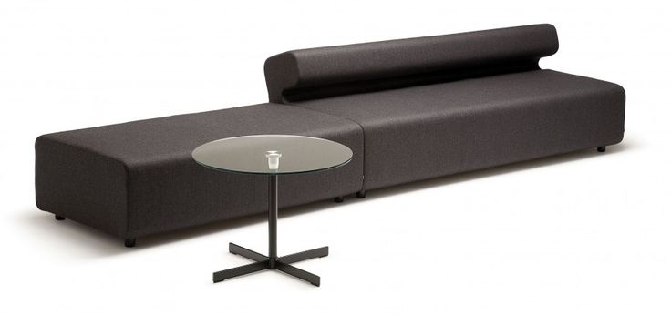 round coffee table and #sectional #sofas for modern #LivingRoomDecor