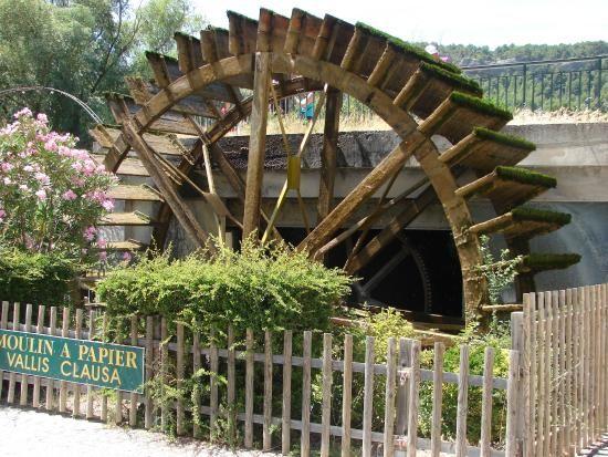 Moulin a Papier Vallis Clausa - Fontaine de Vaucluse