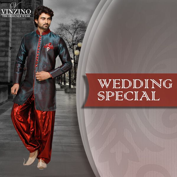 Discover new #trends in #mens wedding attires at one shop stop. Buy ultimate #wedding attire at best price #menswear #weddingseason #style #fashion