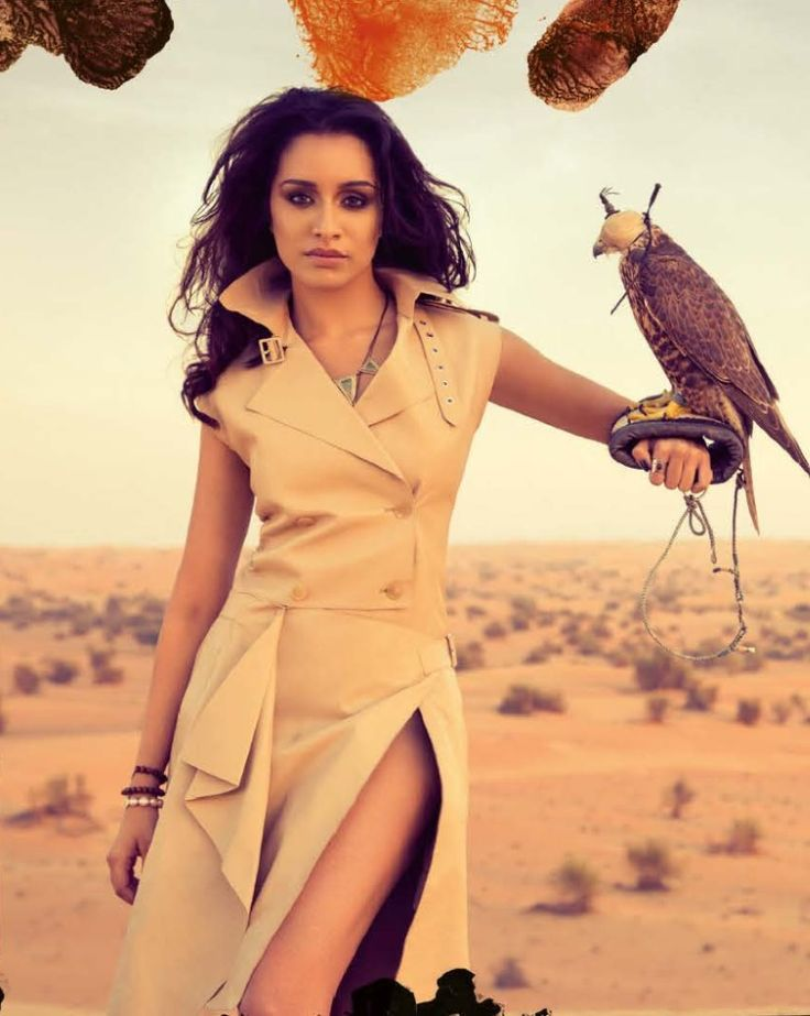 Shraddha Kapoor poses for a photoshoot for Vogue India. #Style #Bollywood #Fashion #Beauty