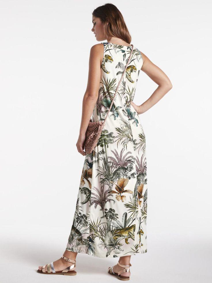 Heine Kleid Damen, bunt, Größe 48   Kleider, Damen ...