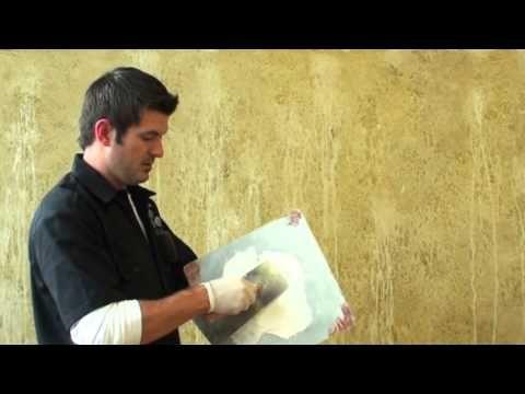 Italian Distressed Plaster Faux Finish Technique - Fab Video Tutorial + Color Recipes
