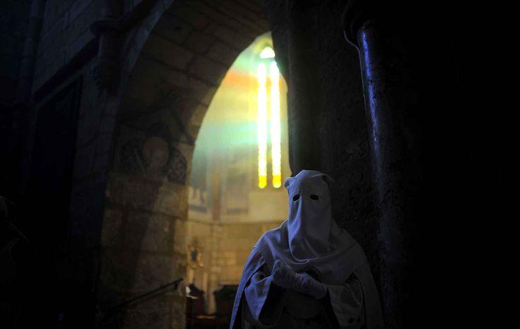 Célébration de la messe des Rameaux, le 29 mars à Cordoue (Espagne).