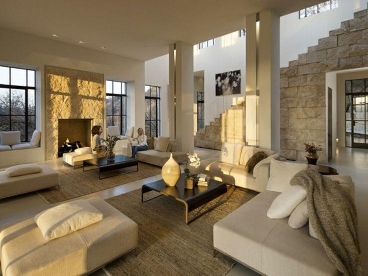 Pièce principale de la maison de luxe