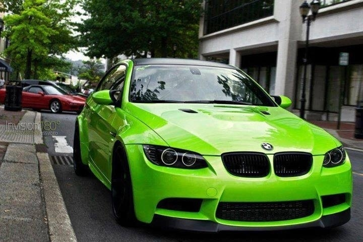 Lime Green Bmw M3 My Dream Rides Pinterest Limes