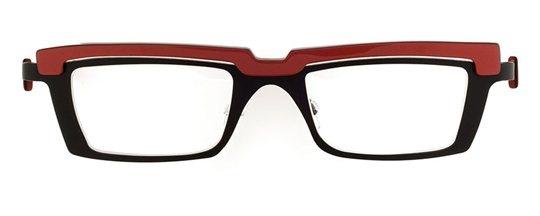 gothic clothing Theo Eye Witness PB 5 Black Mat eyeglasses