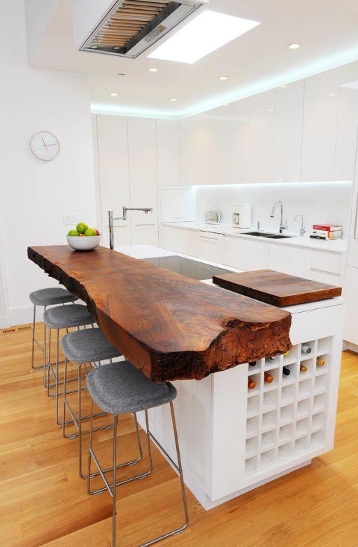 24 best Modern Organic Kitchens images on Pinterest | Kitchen white ...