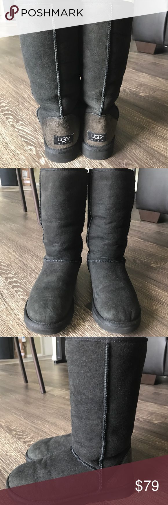UGG Classic Tall Boots Great Condition. Super comfortable!!! UGG Shoes Ankle Boots & Booties
