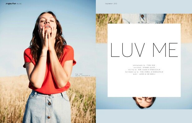 LUV ME by Fiona Ruhe  Superior Magazine