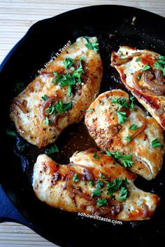 Chicken with Honey-Beer Sauce Delicious!! I did add mushrooms to the sauce. I think this sauce would go well with other meats as well.