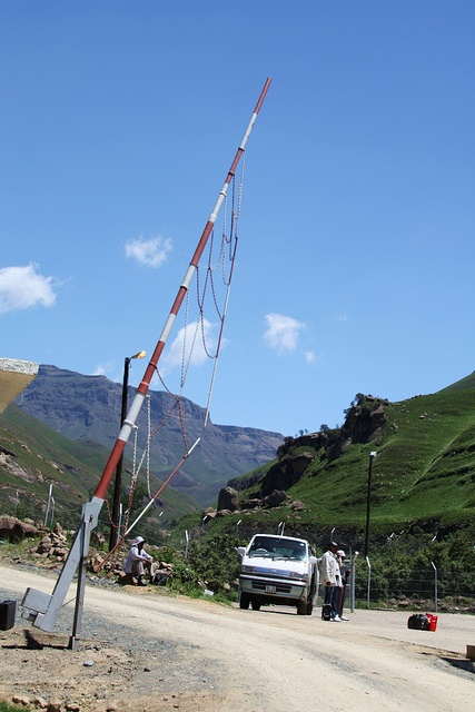 Border gate at Sani Pass; between South Africa & Lesotho