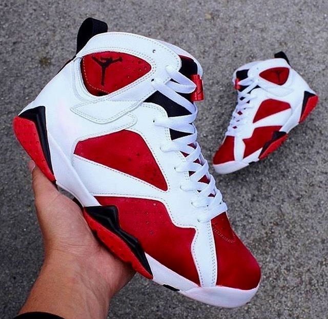 info for 1f143 d5d10 Air Jordan 7 Carmine | Fall outfits | Fashion shoes, Nike ...