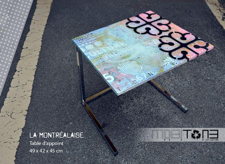 La Montréalaise. Création de l'artiste-peintre Tone. Collection MobiTone. www.t-pakap.net