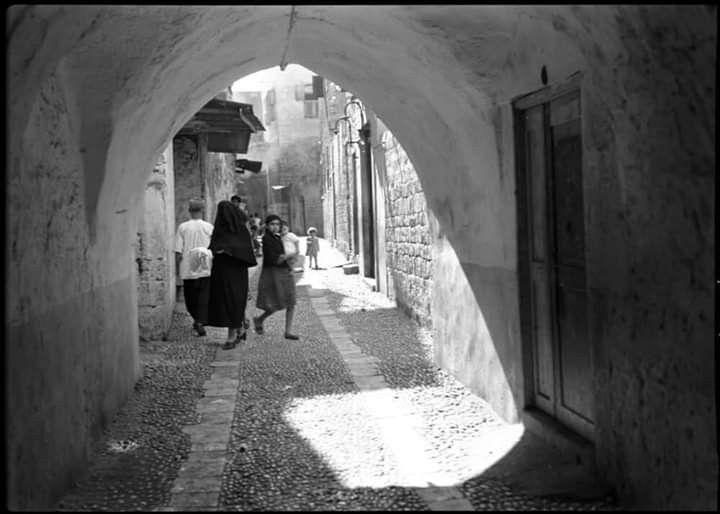 Vieux Quartiers Sour Tyr Sud Liban 1939 الأحياء القديمة الحارة 1939 صور جنوب لبنان Old Houses South Lebanon