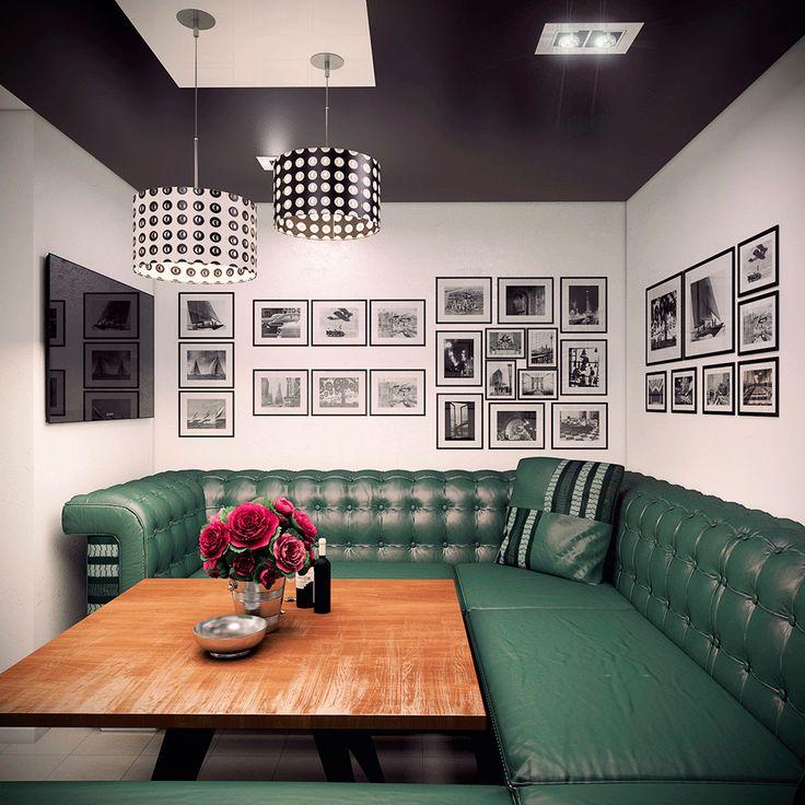 Дизайн интерьера кафе. Дизайн-студия ROMM. Симферополь || Разработка сайтов, веб дизайн, Графический дизайн, 3D визуализация, Дизайн интерьера, Дизайн среды
