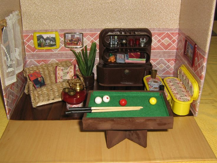 and if you know from what is made cabinet and yellow table and bank... :-)