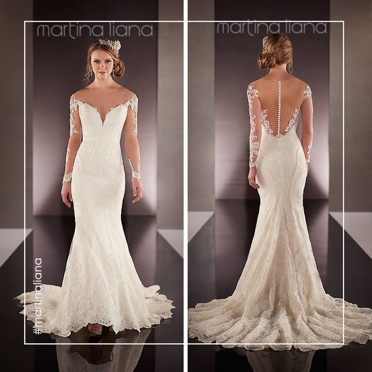 Martina liana is say yes to the dress pearls and lace wedding dresses