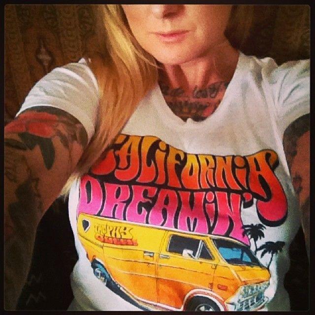 Cal Dreaming Shirts Conversion Van