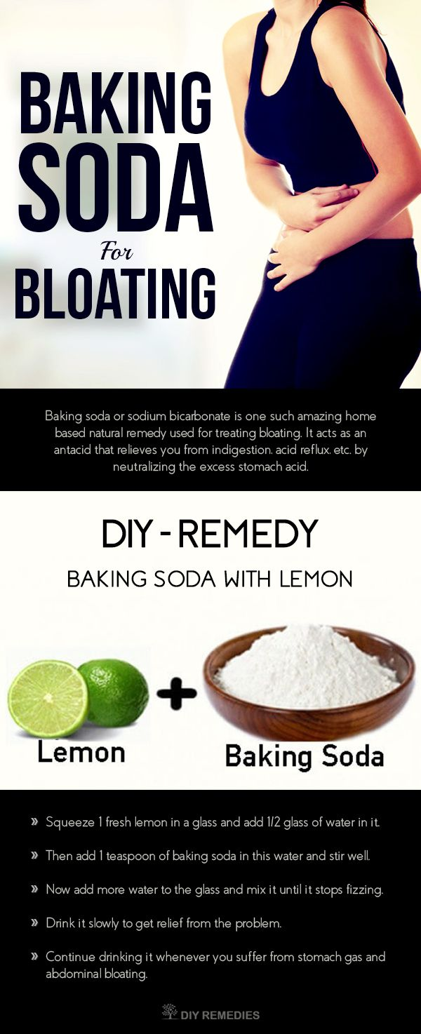 Baking Soda for Bloating