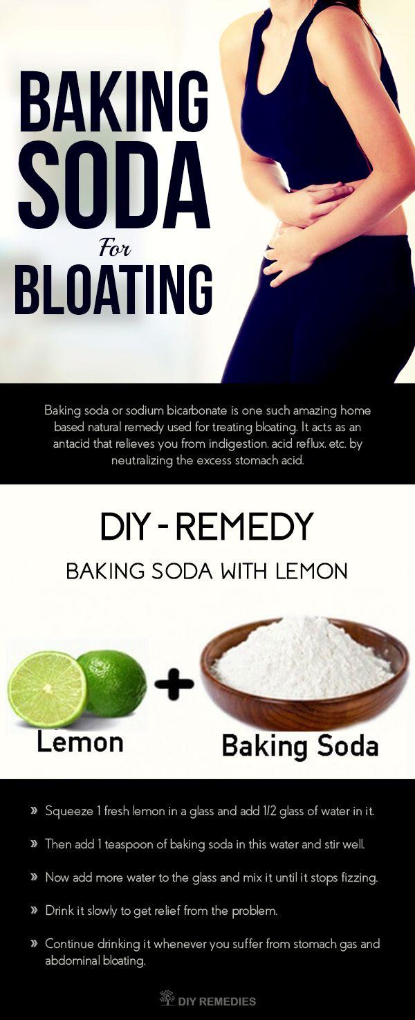 Baking Soda for Bloating