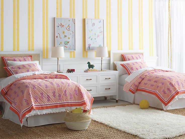 Layer Your Way To The Best Bed Ever | Image Via Serena U0026 Lily | Kidsu0027 Rooms  | Pinterest | Sister Room, Bedrooms And Bedding Collections