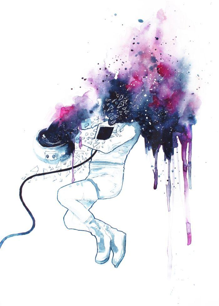 [I NEED SPACE] Art Print