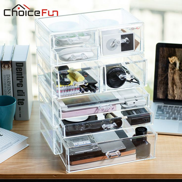 Buy CHOICEFUN Hot Promotion Luxury 8 Drawers Acrylic Large Holder Home Office Organizer Storage Boxes High Quality SF-2179-1235 #CHOICEFUN #Promotion #Luxury #Drawers #Acrylic #Large #Holder #Home #Office #Organizer #Storage #Boxes #High #Quality