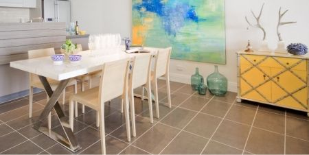 Doesn't our Lyn Table look amazing here in this apartment styled by Touch Interiors