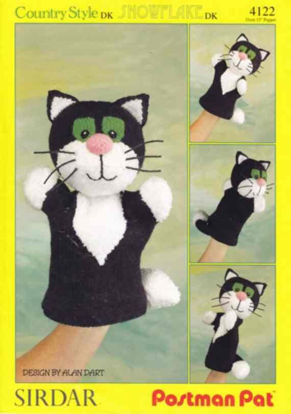17 best postmand per images on pinterest postman pat knit 4122 sirdar knitting pattern postman pats cat jess glove puppet by alan dart dt1010fo