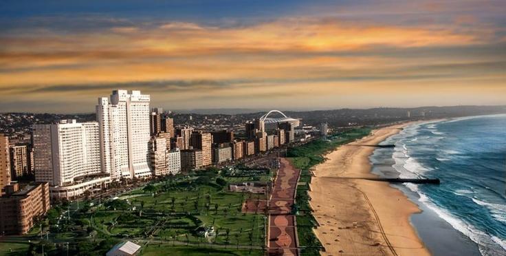 A gorgeous Durban beach front!