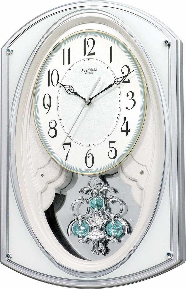 Gallant II Wall Clock by Rhythm Clocks - Rhythm Wall Clocks