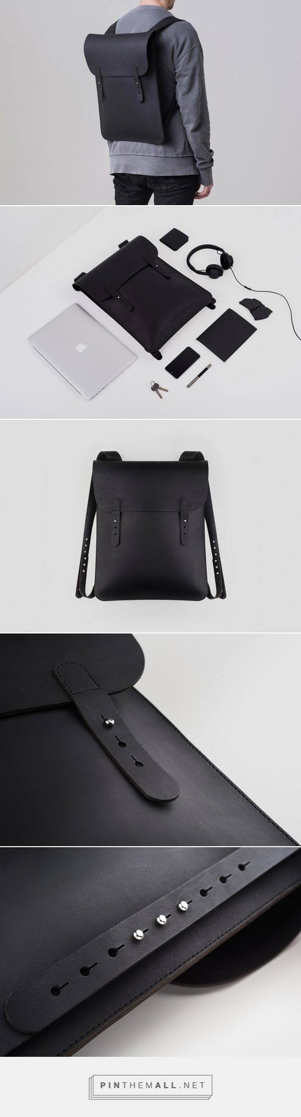 Look No Further for a Minimalist Backpack | Yanko Design - created via https://pinthemall.net