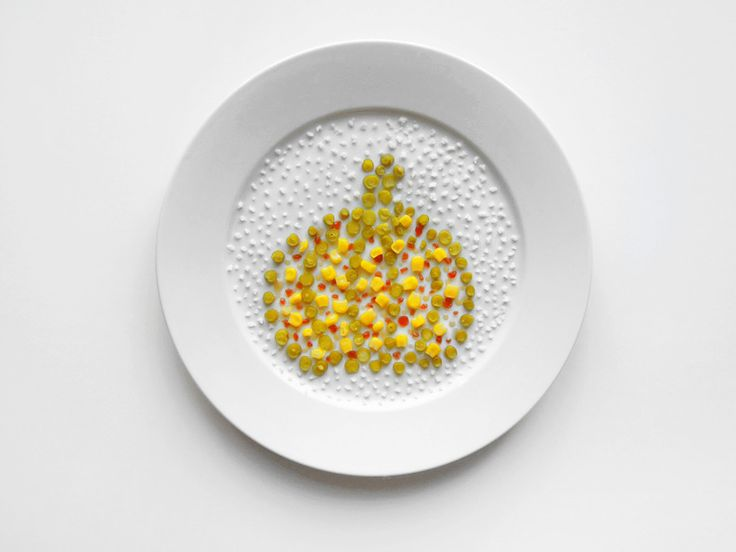 thanksgiving plates of famous artists: Georges SEurat