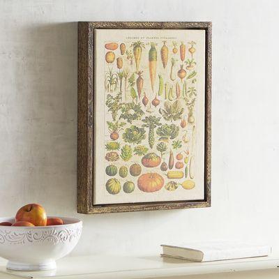 Vegetable Array Art