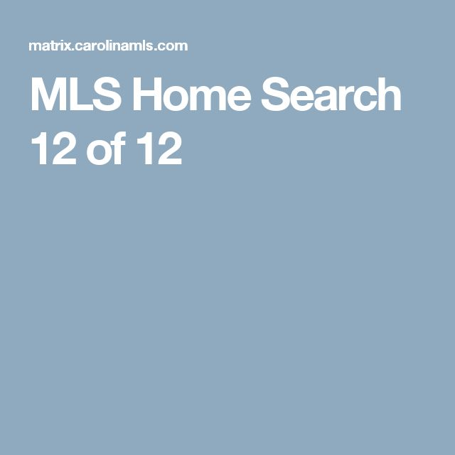 MLS Home Search  12 of 12