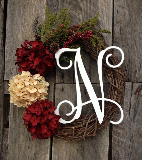 Grapevine Christmas Wreath Christmas Wreath by Studio31TenGifts