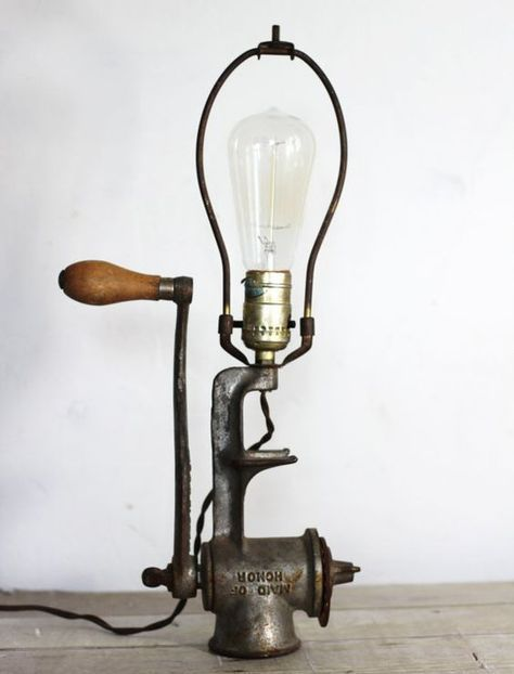 1844 best recycled lights images on pinterest light - Lamparas originales ...