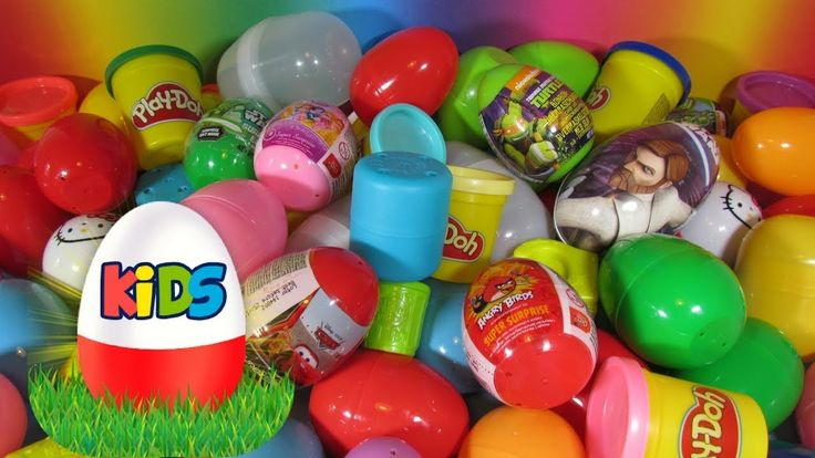 SURPRISE EGGS And TOYS Unboxing MINIONS, Angry Birds, SPIDER-MAN, FROZEN...