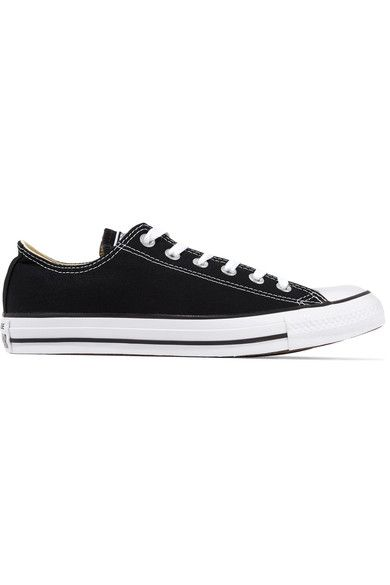 Converse - Chuck Taylor All Star Canvas Sneakers - Black - UK