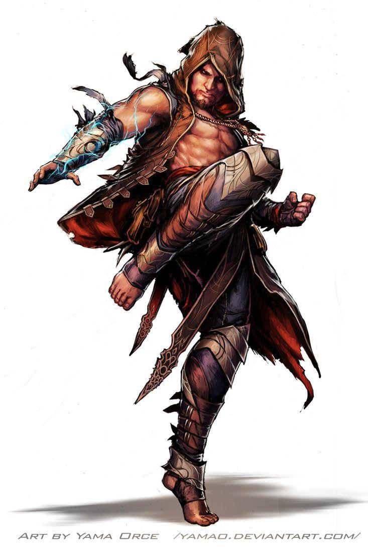 Pathfinder-Darius by YamaOrce on deviantART
