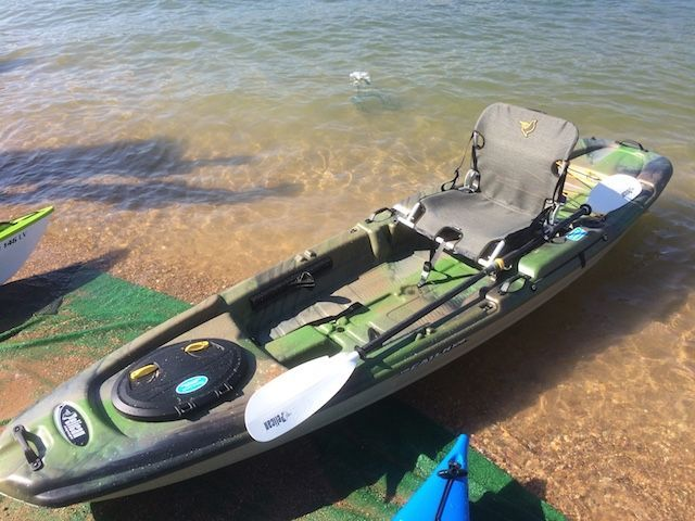 Pelican S Catch 120 Is A Lightweight Option For A Standard Stand Up Fishing Kayak Fishingphotographylake Kayak Fishing Kayaking Kayak Fishing Tips