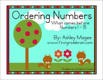 My students always seem to struggle with the concept what number comes before, after, or between. To help combat this issue, I'm creating these cen...